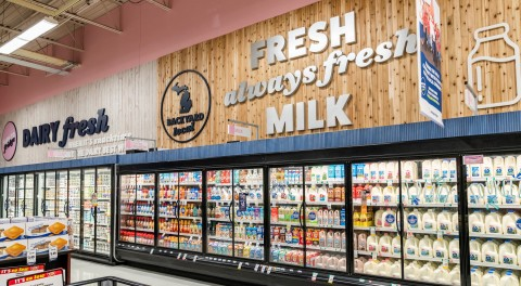SpartanNash Invites Store Guests to Help 'Pour on Kindness' with Companywide Milk Drive (Photo: Business Wire)