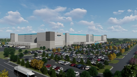 Amazon's new 630,000 square-foot fulfillment center, which is anticipated to launch in Tallahassee, Florida in late 2022, will create more than 1,000 new, full-time jobs with benefits and opportunities to engage with advanced robotics. Employees at the fulfillment center will pick, pack and ship small items, such as books, electronics and toys, to customers. (Photo: Business Wire)