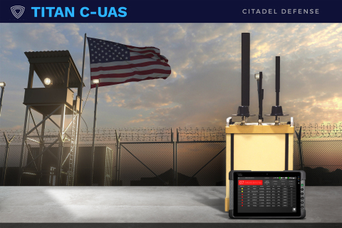 Citadel Defense has been awarded a contract from the U.S. Department of Defense to develop and deploy an integrated counter drone solution that can be used to autonomously detect, identify, track, and defeat hostile drones. (Graphic: Business Wire)