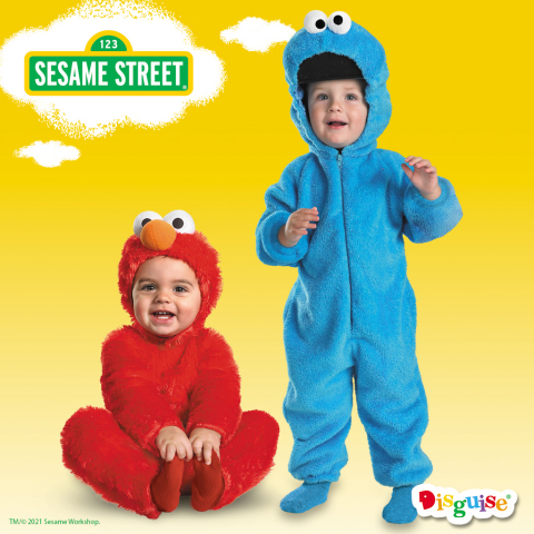 Sesame Street Costumes by Disguise (Photo: Business Wire)