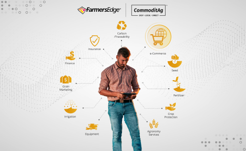 Farmers Edge to Acquire Indiana-based CommoditAg to Expand Agriculture e-Commerce Presence (Photo: Business Wire)
