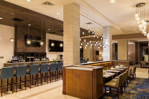 Dine on local favorites and craft brews at the Huron Bistro Bar. (Photo: Business Wire)