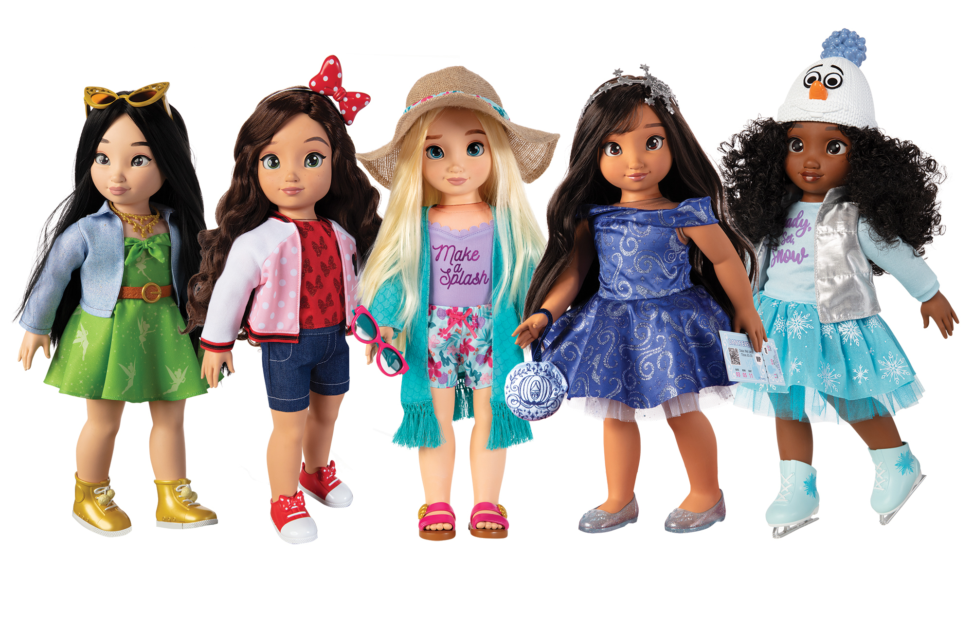 """JAKKS Pacific Launches New """"Disney ily 4EVER"""" Fashion Doll Line to Inspire  Self-Expression Through Style 