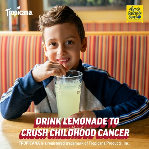 """Applebee's® and Alex's Lemonade Stand Foundation Team Up to """"Crush"""" Childhood Cancer (Photo: Business Wire)"""