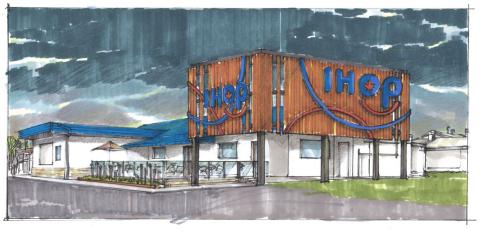 Rendering of Future Belleville, Ontario IHOP (Photo: Business Wire)