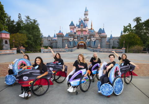 Disney's Adaptive Costumes and Wheelchair Cover Sets allow fans who use wheelchairs and have other accessibility needs to transform into some of their favorite characters across the Disney portfolio (Photo: Business Wire)