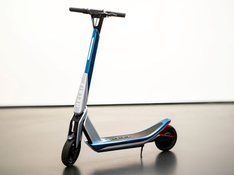 Helbiz Partners with Pininfarina to Launch 'Helbiz One' E-Scooter (Photo: Business Wire)