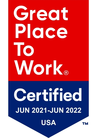 """Cross Country Healthcare Earns 2021 """"Great Place to Work"""" Certification™ (Graphic: Business Wire)."""