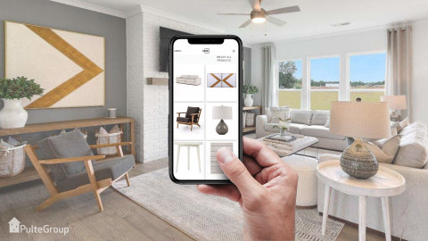 With MINE x Pulte, homebuyers can buy the same furniture and décor pieces that Pulte Interiors features in its collection of beautiful model homes throughout the country. (Photo: Business Wire)