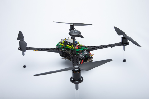 Qualcomm Flight™ RB5 5G Reference Drone; Photo Courtesy of Qualcomm Technologies