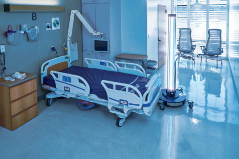 The UVDI-360 Room Sanitizer is globally trusted by over 1,000 hospitals to reduce HAIs and inactivate high-risk pathogens. (Photo: Business Wire)