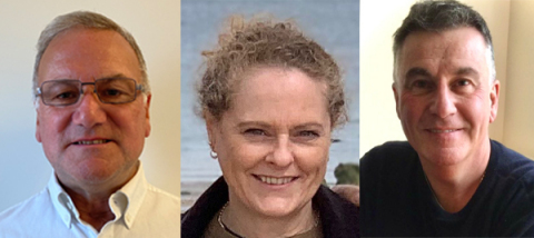 David Carscadden, Lynda Morris and Tony Lewis join Disguise EMEA (Photo: Business Wire)