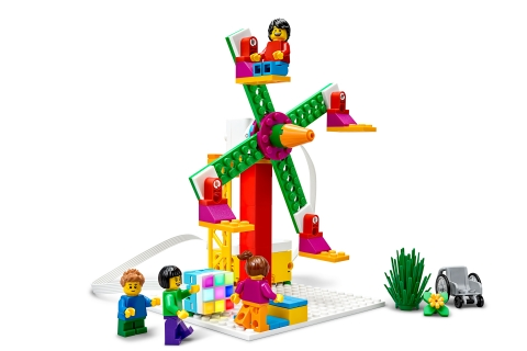 LEGO® Education SPIKE™ Essential, Ferris Wheel lesson model. (Photo: Business Wire)