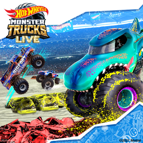 Hot Wheels Monster Trucks Live will be returning to the U.S. this Fall. (Graphic: Business Wire)
