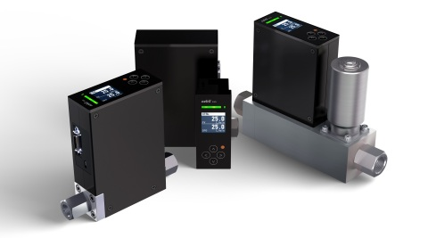 Digital mass flow controller model F4Q (Photo: Business Wire)