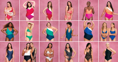 """Summersalt's 2021 """"Everybody is a Summersalt Body"""" campaign (Photo: Business Wire)"""