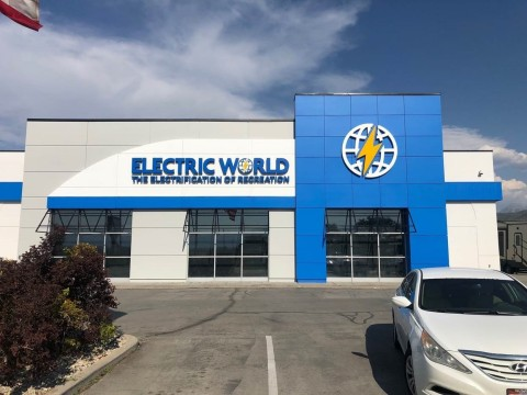 Preview of Electric World in Draper, Utah (Photo: Business Wire)
