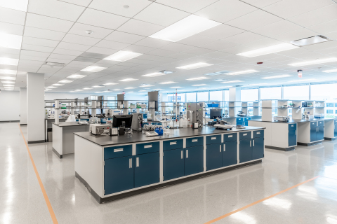 Proteintech's new laboratory at its headquarters expands its operations and adds clinical capabilities. (Photo: Business Wire)