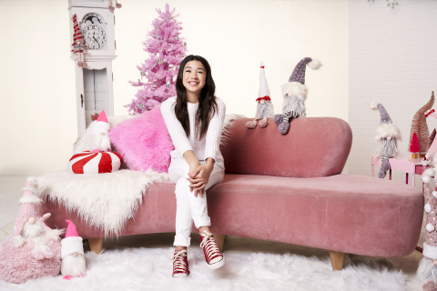 """""""Christmas Again"""" (Friday, Dec. 3, at 8:00 p.m. ET/PT on Disney Channel) – Disney fan-favorite Scarlett Estevez (""""BUNK'D"""" and the upcoming """"Ultra Violet & Black Scorpion"""") stars as Rowena """"Ro,"""" a high-spirited teenager experiencing a lackluster Christmas. Ro isn't handling her parents' divorce well because she wants her life back the way it was—her parents back together, her dad's new girlfriend and son out of the picture, and their family traditions to remain the same. After a disappointing celebration with her family, including her sister Gabriela """"Gabby,"""" Abuela Sofia and Abuelo Hector, she makes a wish to a neighborhood Santa for a """"do-over"""" and unexpectedly finds herself reliving Christmas day over and over … and over again. Now, in order to break the strange magical loop, Ro must learn to appreciate her loving family as it is, as well as the true meaning of Christmas. (Photo Credit: Disney Branded Television)"""