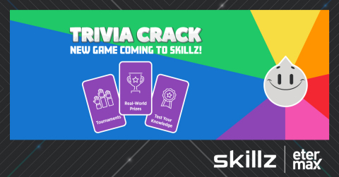 """Blockbuster """"Trivia Crack"""" Franchise to Create All-New Game Exclusively on Skillz Platform (Graphic: Business Wire)"""