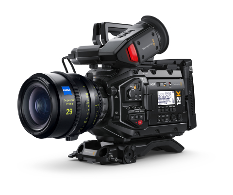 New low price for the Blackmagic URSA Mini Pro 12K and powerful new DaVinci Resolve processing engine make high resolution workflows even more accessible! (Photo: Business Wire)