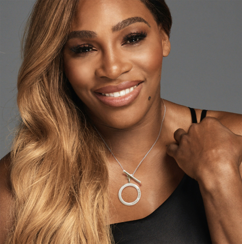 Serena Williams wears Serena Williams Jewelry Unstoppable (Photo: Business Wire)