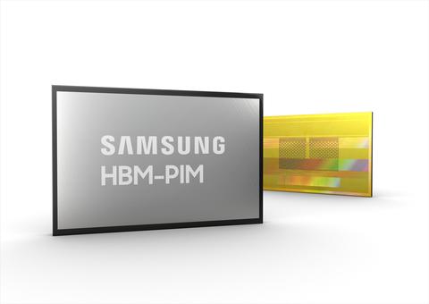 Samsung HBM-PIM (Photo: Business Wire)