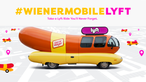 Oscar Mayer teams up with Lyft (Photo: Business Wire)