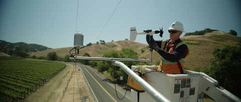 PG&E installs weather stations across Northern and Central California (Photo: Business Wire)