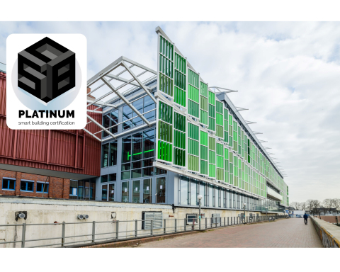 Hammerbrooklyn. Digital Pavillon Becomes First to Receive Platinum Smart Building Certification in Germany (Photo: Business Wire)
