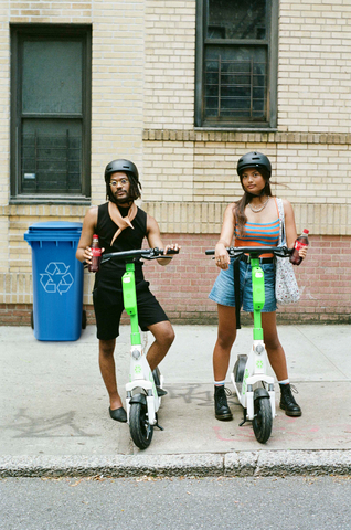 Coca-Cola® Encourages Recycling by Offering Free Rides through Lime Partnership (Photo: Business Wire)