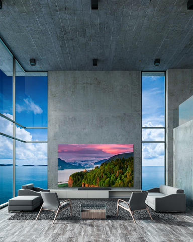 Planar Lifestyle Displays deliver unmatched visual experiences for luxury environments (Photo: Business Wire)