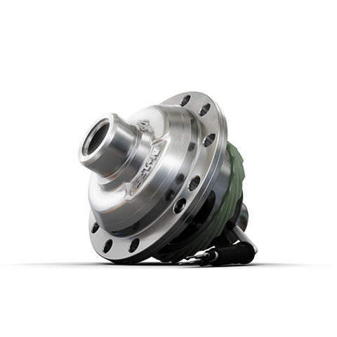 Eaton's extensive portfolio of specialized differentials for electrified vehicle manufacturers offers improved traction in adverse conditions, such as snow and mud, and stability while trailering. (Photo: Business Wire)