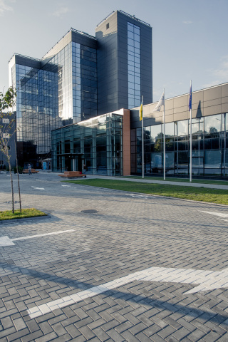 SoftServe's current European headquarters in Lviv, Ukraine. (Photo: Business Wire)