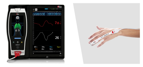 Masimo Root® Monitor and rainbow® SpHb® Sensor (Graphic: Business Wire)