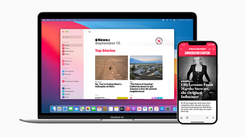The News Partner Program expands Apple's work with and support for journalism and is designed for subscription news publications that provide their content to Apple News in Apple News Format. (Graphic: Business Wire)