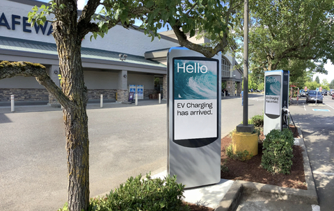 Volta announces new station installation in Yelm, Washington. (Photo: Business Wire)