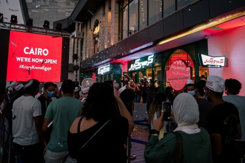 Krispy Kreme's Cairo Store Opening (Photo: Business Wire)