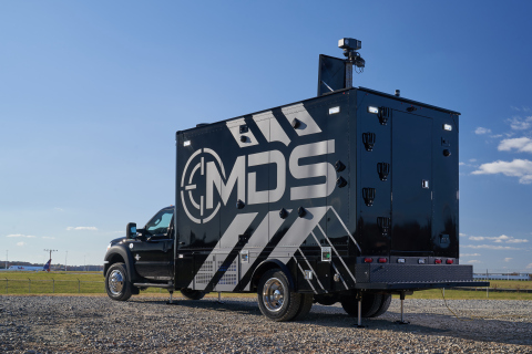 MDS is a multi-purpose Chemical, Biological, Radiation, Nuclear, Explosive (CBRNE) detection tactical command and control vehicle. (Photo: Business Wire)