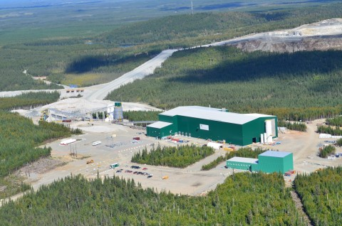North American Lithium's Spodumene Concentrator (Photo: Business Wire)