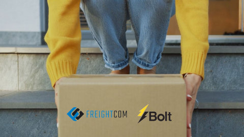 Bolt Logistics partners with Freightcom (Photo: Business Wire)