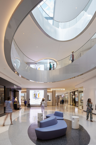 Taubman's  17 U.S. owned and operated shopping centers, including Beverly Center in Los Angeles (pictured here), have earned the International WELL Building Institute (IWBI) WELL Health-Safety Rating. The distinction recognizes Taubman for prioritizing health and safety in its business operations, and the rating signals to the community, employees and customers that the company's shopping centers follow the highest health and safety standards. (Photo: Business Wire)