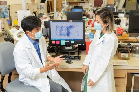 Xiaowu Gai, PhD, Jennifer Dien Bard, PhD, and their colleagues at Children's Hospital Los Angeles are using genomic sequencing to track SARS-CoV-2 mutations and COVID-19 variants. (Photo: Business Wire)
