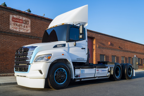 Allison Transmission and Hino Trucks Partner on Class 6, 7 and 8 BEV Trucks for Production in 2023. (Photo: Business Wire)