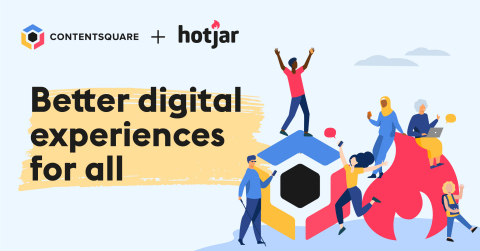 Hotjar will learn from Contentsquare's advanced technology and resources, while Contentsquare will benefit from Hotjar's reach and product-led approach (Photo: Business Wire)