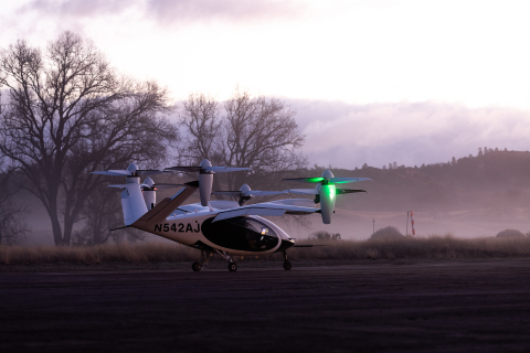 The Joby aircraft (Photo: Business Wire)