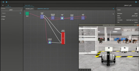 The MOV.AI Robotics Engine Platform™, powered by Velodyne Lidar's Puck™ sensors, helps autonomous mobile robots (AMR) manufacturers quickly develop and deploy robots that can operate in dynamic environments in which humans, manual machines and robots work side by side. The platform allows mobile robots to traverse outside controlled situations and safely function in unfamiliar and unpredictable settings. (Photo: MOV.AI)