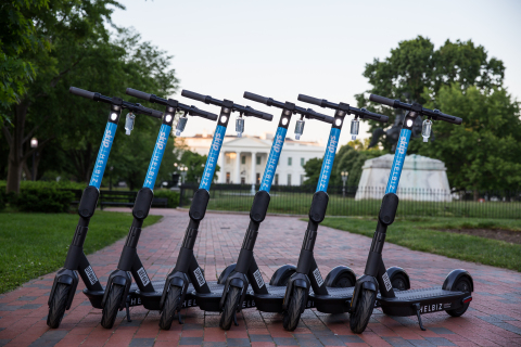 Helbiz Partners with VOX to Launch a New Experiential Service to Explore the History of Washington, D.C. (Photo: Business Wire)