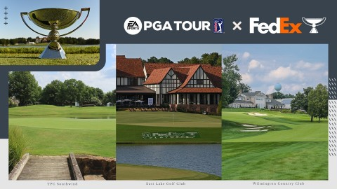 Electronic Arts and PGA TOUR Announce Authentic Addition of FedExCup Playoffs to EA SPORTS PGA TOUR With Innovative Integration of Shotlink Real-time Data (Graphic: Business Wire)
