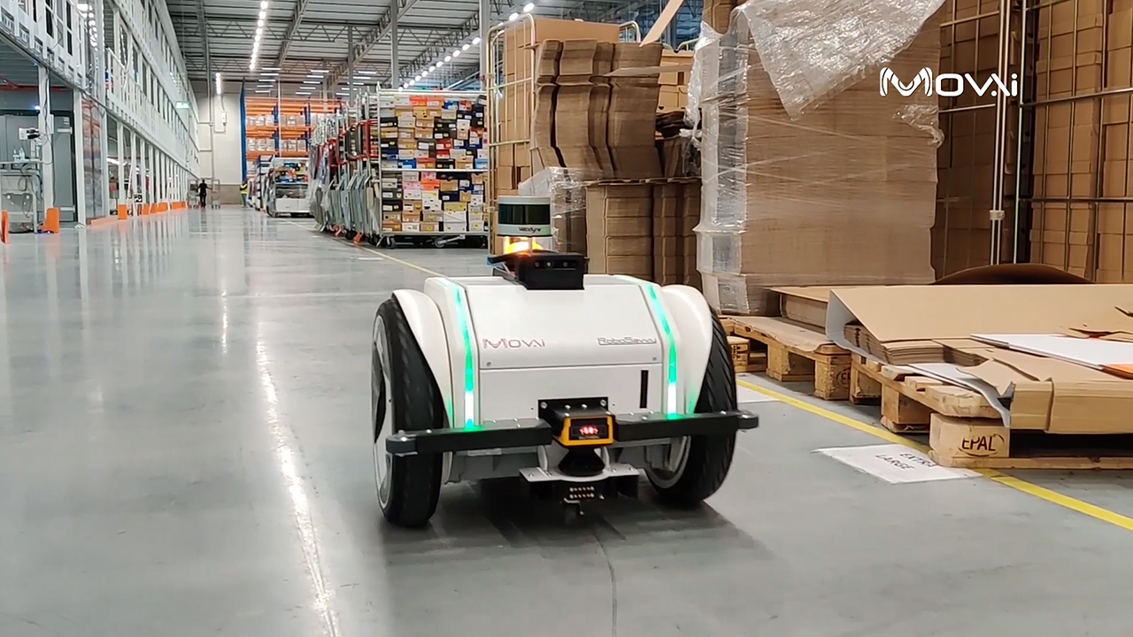 The MOV.AI Robotics Engine Platform™, powered by Velodyne Lidar's Puck™ sensors, delivers advanced tools that allow autonomous mobile robots (AMR) manufacturers and integrators to address the challenges of safely moving in changing and unstructured environments like material handling and warehouse logistics. (Video: MOV.AI)